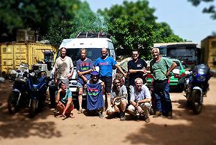 Paul Siegrist, Reise von Egliswil nach Banjul Afrika